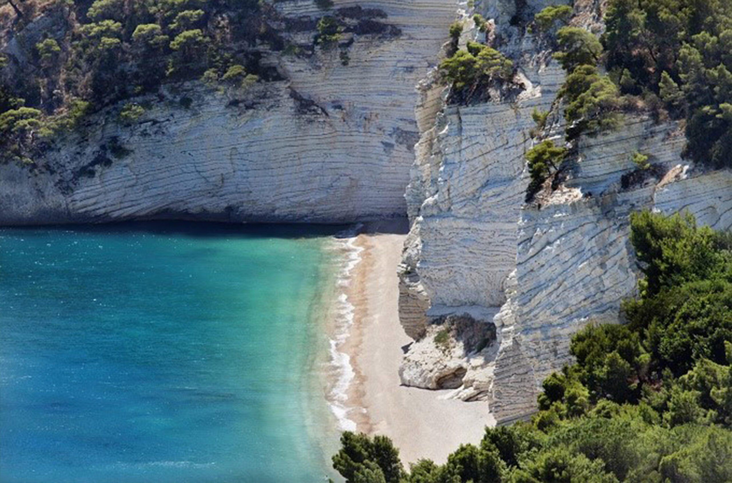 Montelci spiaggia