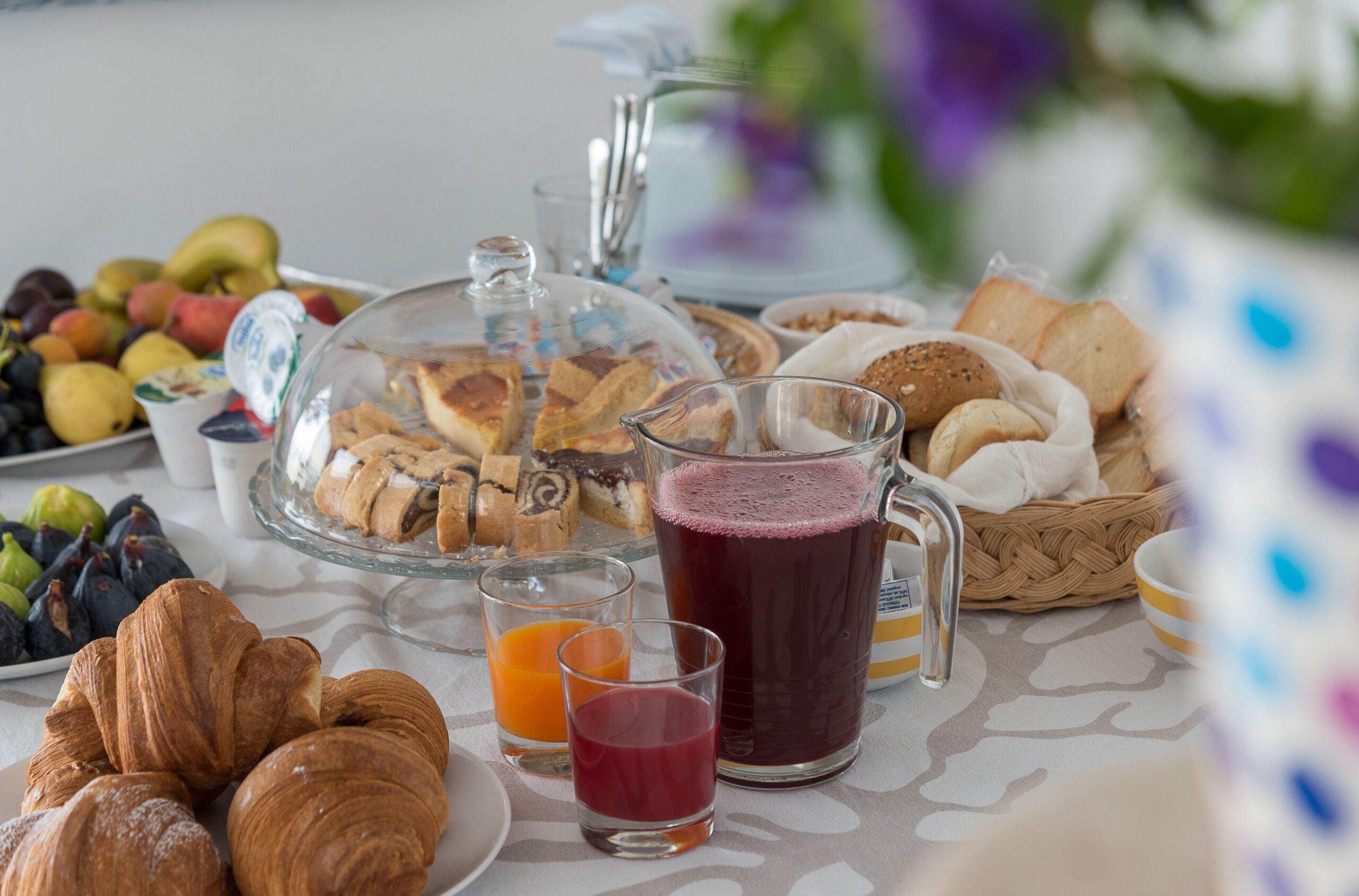 Montelci colazione